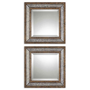 Norlina Squares Mirror, Set of Two