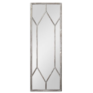 Sarconi Distressed Silver Oversized Mirror