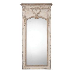 Carlazzo Antique White Mirror