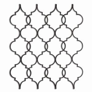 Zakaria by Grace Feyock: 48 x 53-Inch Metal Wall Art