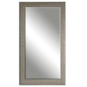 Malika Antiqued Silver and Gray Mirror