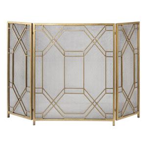 Rosen Gold Fireplace Screen