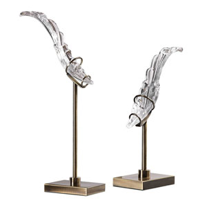 Wings Sculpture, Set of Two