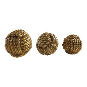 Tali Rope Spheres, Set of Three