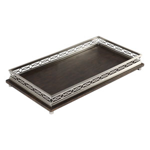 Gualtiero Nickel and Wood Tray