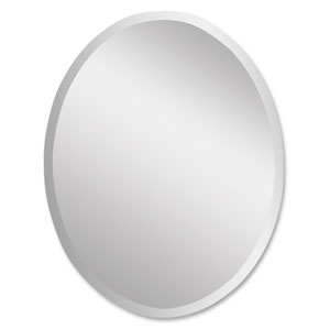 Frameless Oval Mirror- Small