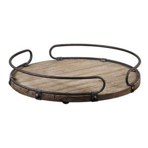 Acela, Natural Fir Wood Tray