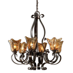 Vetraio Six-Light Chandelier