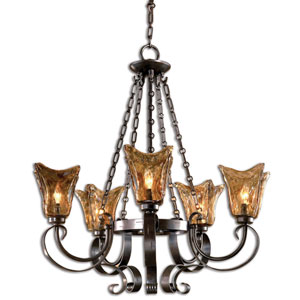Vetraio Five-Light Chandelier