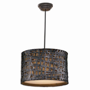 Alita Aged Black Drum Shade