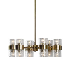 Marinot Twelve-Light Chandelier