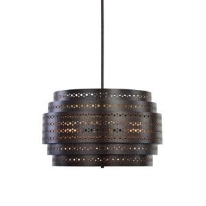 Fuller Three-Light Drum Chandelier