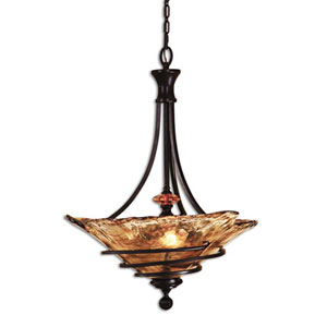 Vitalia Three-light Bowl Pendant