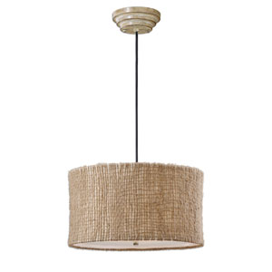Burleson Three-Light Drum Pendant