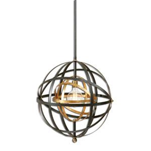 Rondure Dark Oil Rubbed Bronze One-Light Pendant