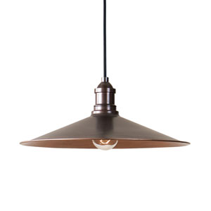Barnstead Antique Copper One-Light Pendant