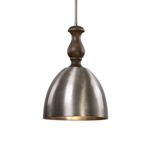 Luna Aluminum One-Light Mini Pendant
