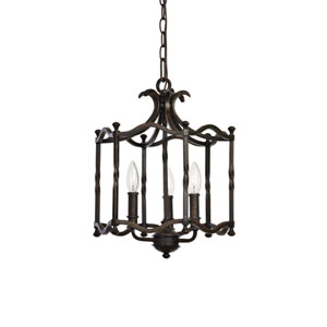 Candela Old World Three-Light Pendant