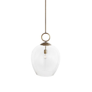 Calix Large Blown Glass Pendant