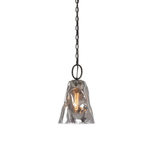 Drappo Smoked Glass Mini Pendant