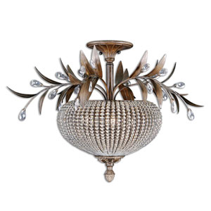 Cristal De Lisbon Semi-Flush Ceiling Light