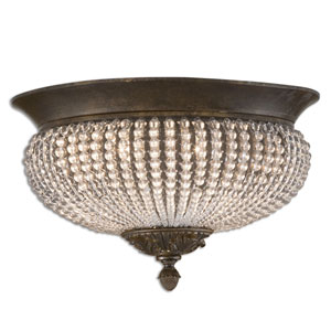 Cristal De Lisbon Flush Mount Ceiling Light
