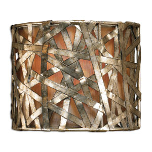 Alita Champagne One-Light Wall Sconce