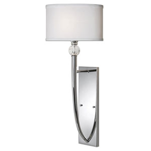 Vanalen Polished Chrome One Light Wall Sconce