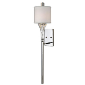 Grancona Polished Chrome One Light Wall Sconce