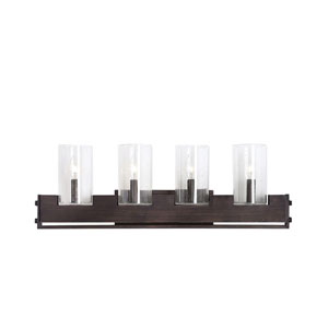 Pinecroft Industrial Four-Light Vanity