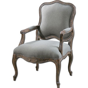 Pine and White Mahogany Willa Armchair
