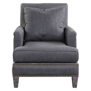 Connolly Charcoal Armchair