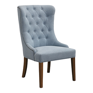 Rioni Light Slate Blue Wing Chair