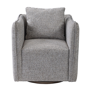 Corben Gray Swivel Chair