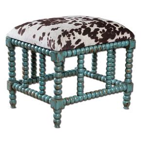 Chahna Aqua Blue Small Bench