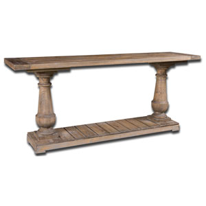 Stratford Fir Wood Console Table