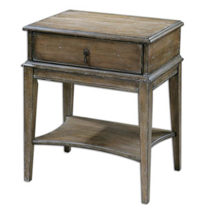 Hanford Pine Antique Accent Table