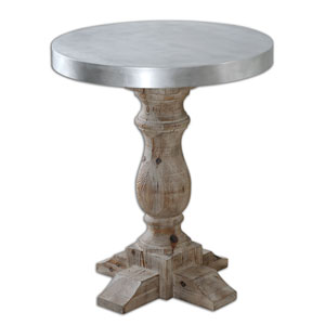 Martel Natural Stained Accent Table