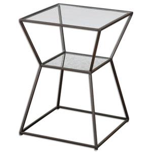 Auryon Black Iron Accent Table