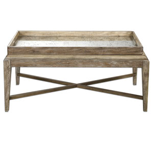 Marek Weathered Wood Coffee Table