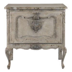Fausta Aged Ivory Accent Chest
