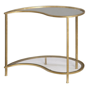 Darcie Antique Gold Bunching Side Table
