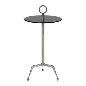 Astro Stainless Steel Accent Table