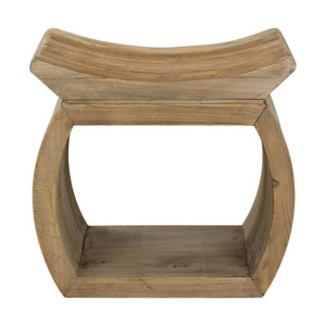 Connor Elm Accent Stool