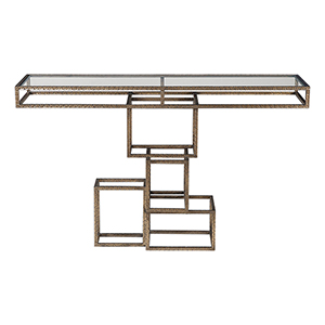 Ruslan Bronze Console Table