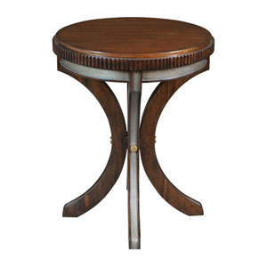 Grae Walnut Accent Table