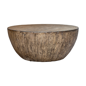 Lark Round Wood Coffee Table
