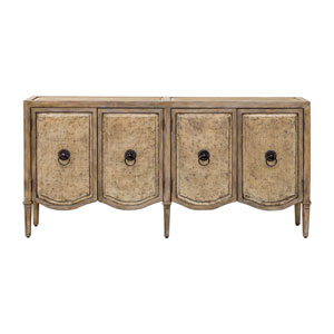 Thina Champagne Console Cabinet