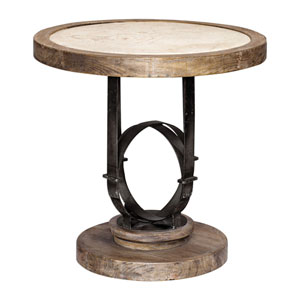 Attrayant Sydney Light Oak Accent Table