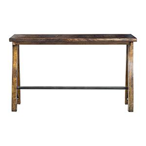 Westlyn Dark Walnut Bar Table